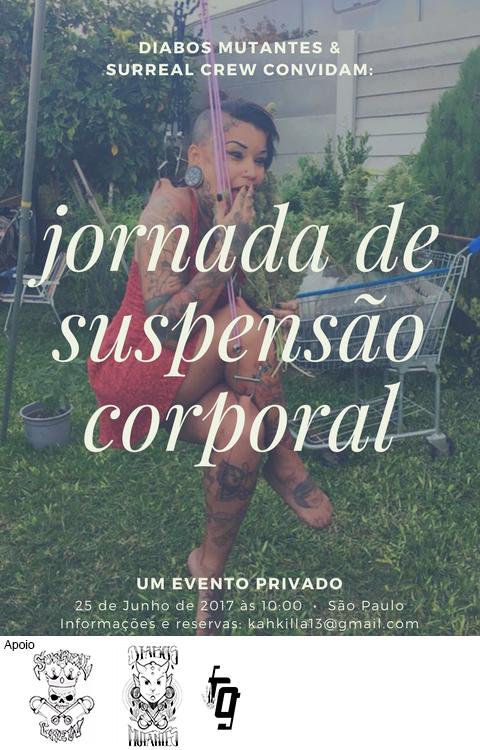 Jornada de suspensão corporalem São paulonn