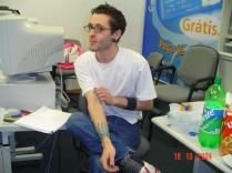 Foto de reunião, 2004.